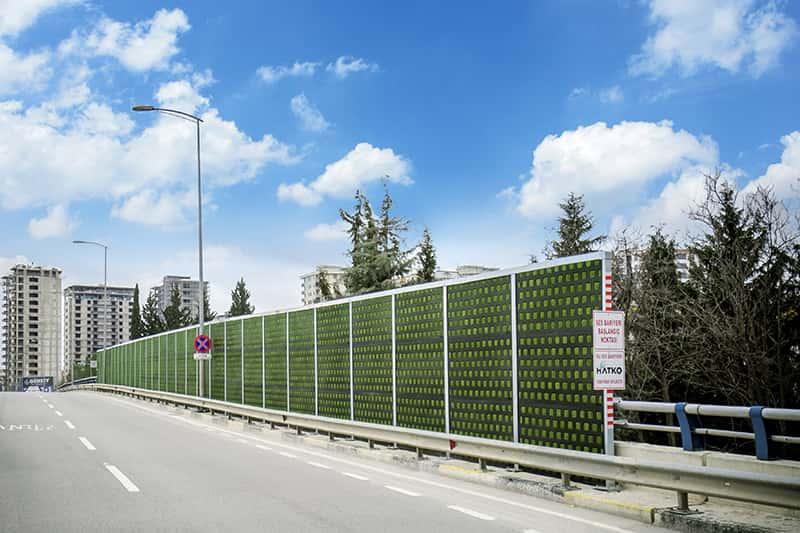 Highway Noise Barrier